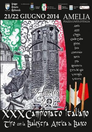 XXX Campionato Italiano LITAB: Balestra antica da banco
